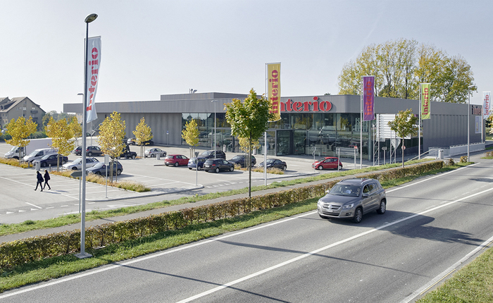 Centre commercial Migros-Interio, Etoy