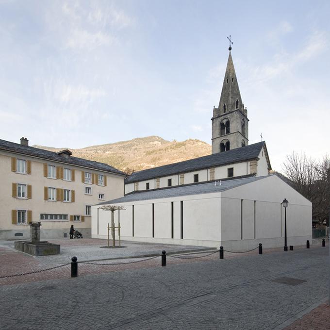 Salle paroissiale à Martigny