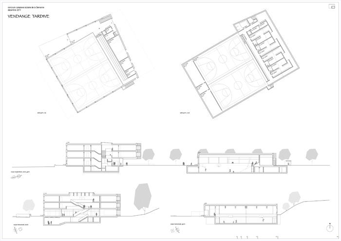 Complex scolaire de la Servanne à Bex