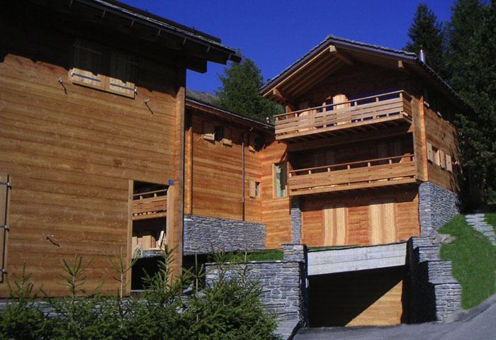 Construction de 4 chalets à Verbier