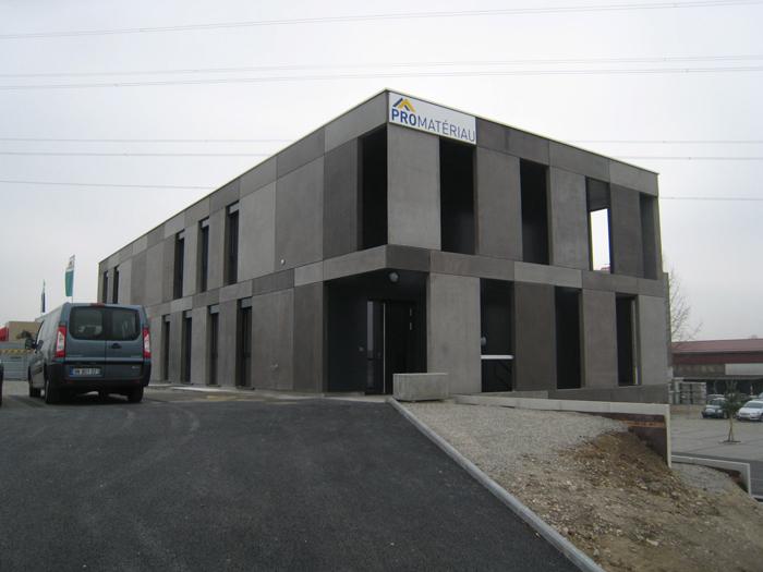 Bâtiment administratif, Satigny