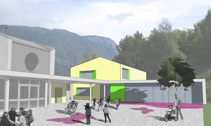Agrandissement centre scolaire Les Valettes