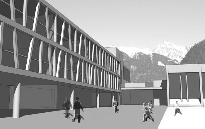 Bâtiment scolaire de Vollèges