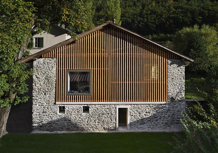 Maison Cesalli rŽnovŽe par Delaloye Architectes