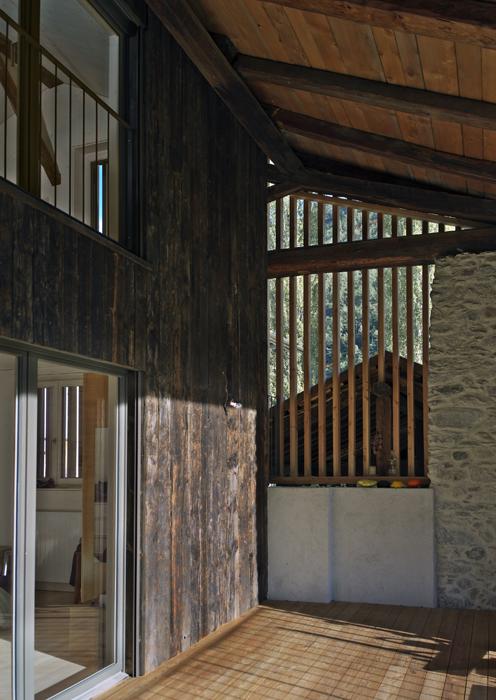 Maison Cesalli. architectes Delaloye SA. Martigny